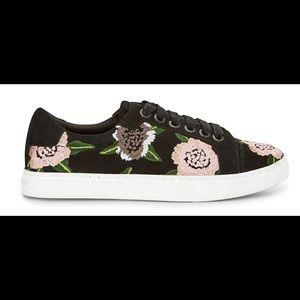 Rebecca Minkoff Floral Embroidered Sneaker